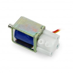 Zawór elektromagnetyczny mini - 12V 0,4 bar