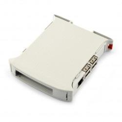Obudowa Raspberry Pi 3B/2B/B+/A+ na szynę DIN - KIT 22,5mm