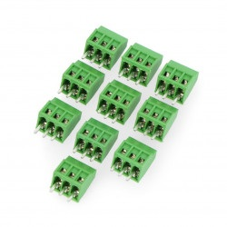 Złącze ARK raster 2,54 mm 3 pin (-)