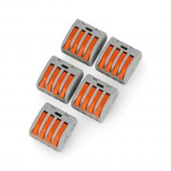 Kostka elektryczna typu WAGO 4pin 32A/400V
