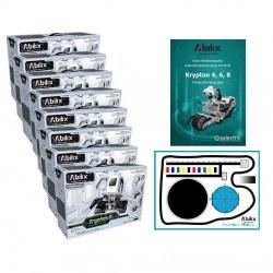 Zestaw pracowni programistycznej - Abilix Krypton 4 + mata + scenariusze lekcyjne - dla 16 uczniów