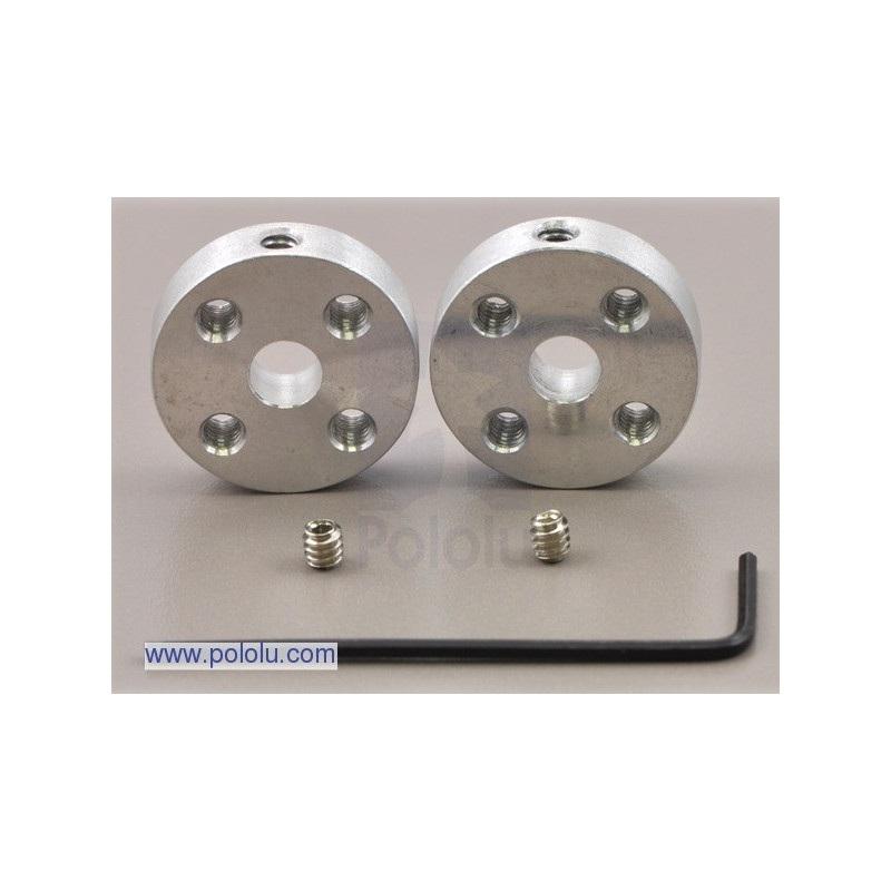 Aluminiowy hub mocujący 5mm