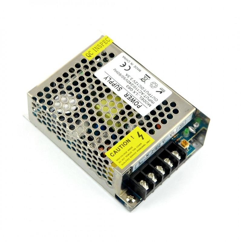 Zasilacz modułowy LXG63 do taśm i pasków LED 12V / 3,3A / 40W