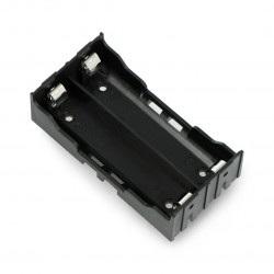 Koszyk na 2 baterie typu 18650 bez przewodów