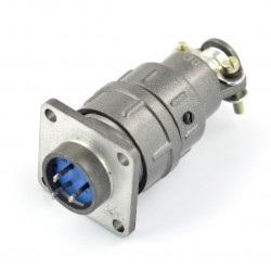 Złącze przemysłowe ZP1 z szybkozłączem - 3-pinowe