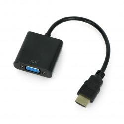 Konwerter HDMI do VGA + audio HD31A z przewodem