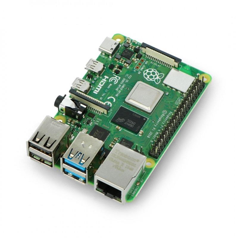 Raspberry Pi 4 model B WiFi DualBand Bluetooth 8GB RAM 1,5GHz