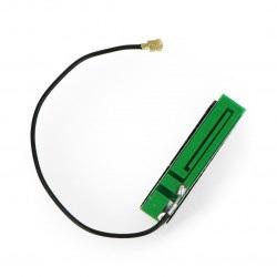 Antena GSM ze złączem U.FL - samoprzylepna - 13cm