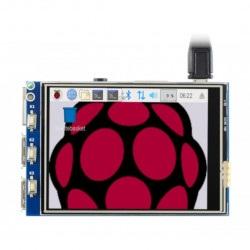 Moduł wyświetlacza dotykowego LCD TFT 3,2'' 320x240 dla Raspberry Pi A, B, A+, B+, 2B, 3B, 3B+