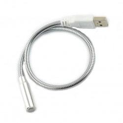 Lampka 1 LED giętka na USB
