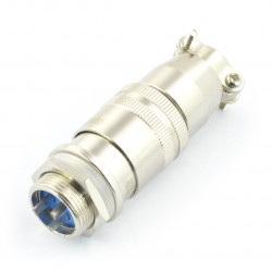 Złącze przemysłowe ZP2 z szybkozłączem - 3-pinowe