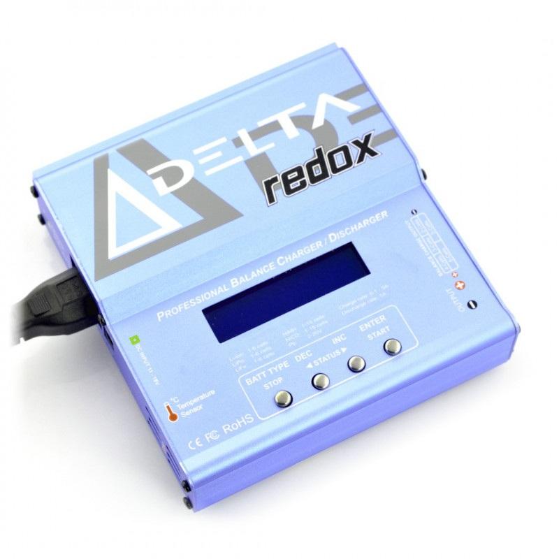 Ładowarka LiPol z balanserem REDOX Delta z wbudowanym  zasilaczem