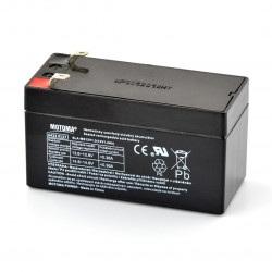Akumulator żelowy 12V 1,2Ah Motoma