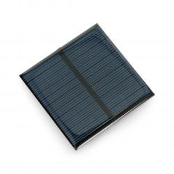 Ogniwo słoneczne 0,6W / 5,5V 65x65x3mm