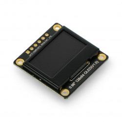 Wyświetlacz OLED monochromatyczny graficzny 0,96'' 128x64px I2C/SPI - DFRobot DFR0650