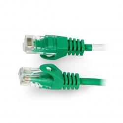 Przewód sieciowy Lanberg Ethernet Patchcord UTP 5e 30m - zielony