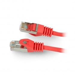 Przewód sieciowy Lanberg Ethernet Patchcord FTP kat.6 30m - czerwony