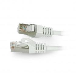 Przewód sieciowy Lanberg Ethernet Patchcord UTP 5e 50m - szary
