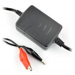 Ładowarka do akumulatorów żelowych 12V / 0,8A / 4-7Ah