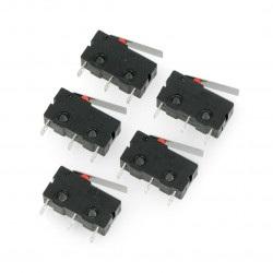 Wyłącznik czujnik krańcowy mini - WK601