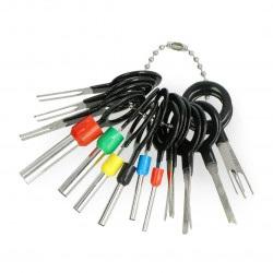 Klucze wyjmaki do pinów - 18 elementów