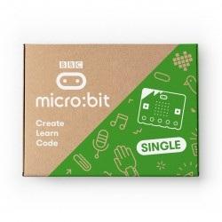 BBC micro:bit 2 Single - moduł edukacyjny, Cortex M4, akcelerometr, Bluetooth, LED 5x5