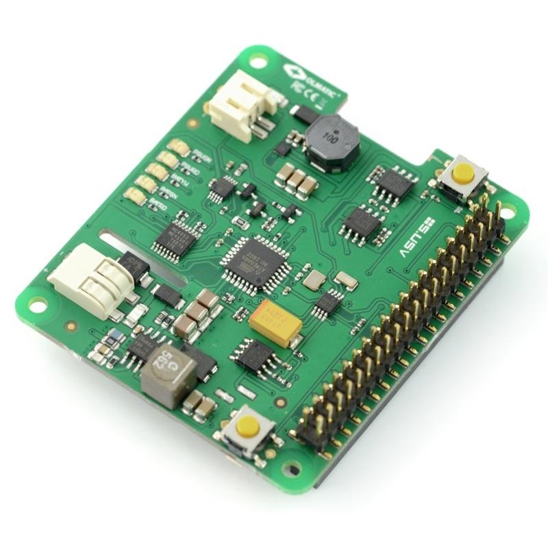 S.USV Pi Advanced Mobile - UPS + RTC zasilanie awaryjne dla Raspberry Pi