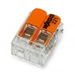 Kostka elektryczna samozaciskowa 2 pin 4mm 32A/450V