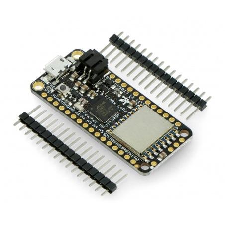 Adafruit Feather M0 + moduł radiowy 433 MHz RFM95 LoRa - zgodny z Arduino
