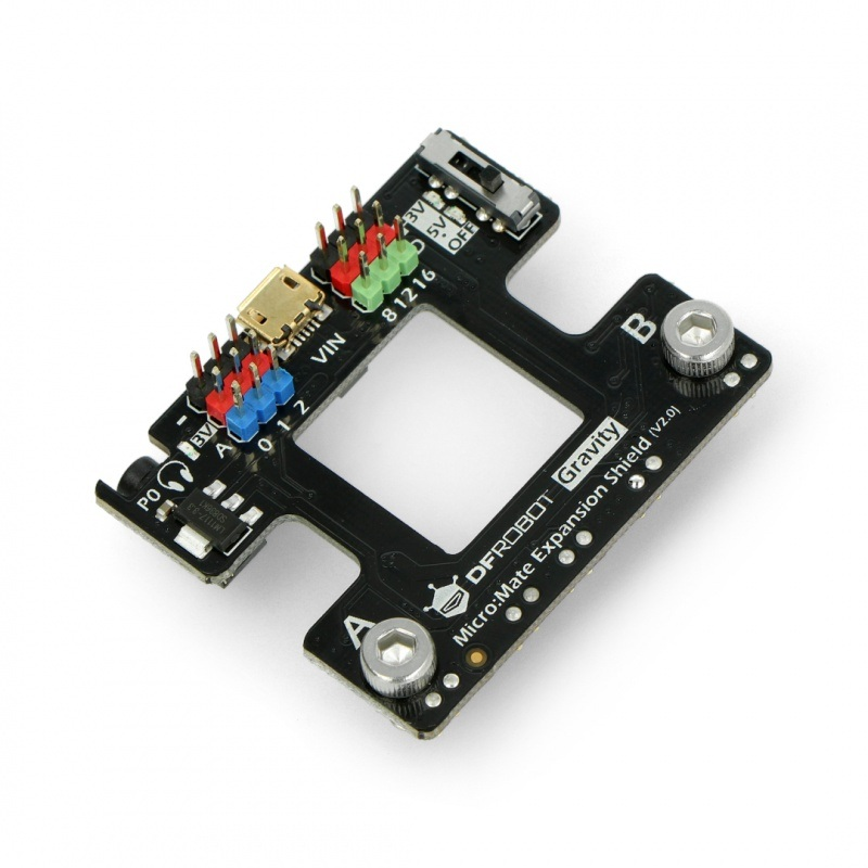 Micro:Mate - płytka rozszerzeń dla micro:bit - kompatybilna z Gravity
