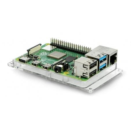 Podstawka do Raspberry Pi 3 - przezroczysta