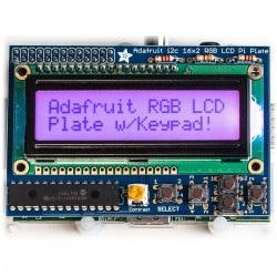 RGB pozytyw 2x16 LCD + klawiatura Kit dla Raspberry Pi -