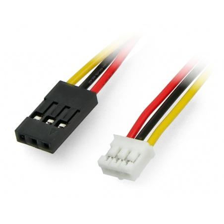 Przewód, przejściówka 3x1 JST raster 2mm - BLS raster 2,54mm - 5szt.