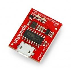 Serial Basic - konwerter USB-UART CH340G - gniazdo microUSB -