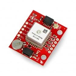 XA1110 - moduł GPS MediaTek MT3333 10Hz - I2C/UART - SparkFun GPS-14414