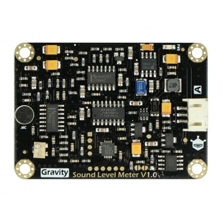 DFRobot Gravity - analogowy miernik poziomu dźwięku