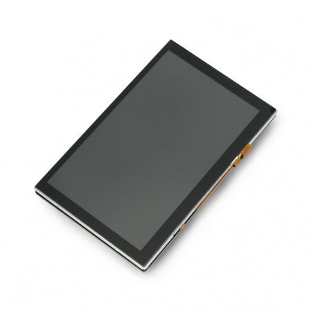 Ekran dotykowy DFRobot  - pojemnościowy 5'' 800x480px DSI do Raspberry Pi 4B/3B+/3B/2B