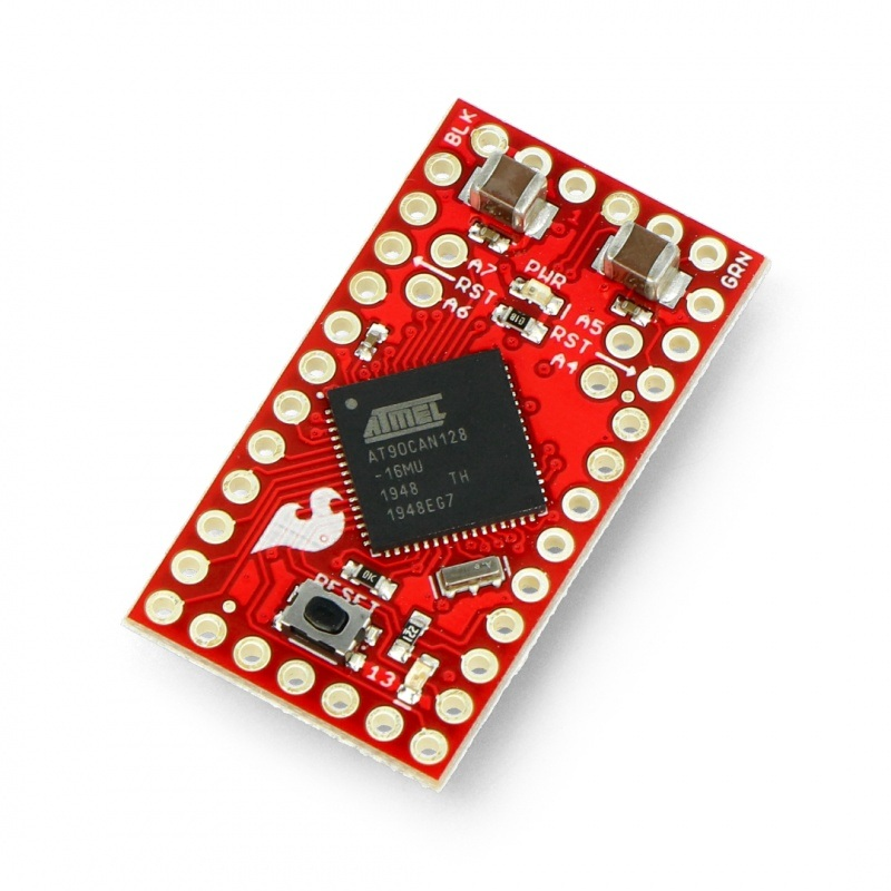 AST-CAN485 - AT90CAN128 z kontrolerem CAN - zgodny z Arduino Pro Mini - SparkFun DEV-14483