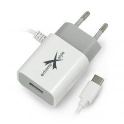Zasilacz eXtreme Ampere ATCCU24W USB typ C + USB 2,4A