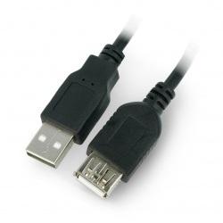 Przedłużacz USB A-A - 1,8m