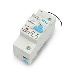 Rozłącznik prądu Zigbee Tuya RTX ZCB16-1P 16A