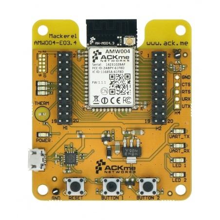 ACKmeMackerel - płytka deweloperska WiFi - SparkFun WRL-13122