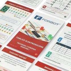 FORBOT - tablice elektroniczne - kurs techniki cyfrowej