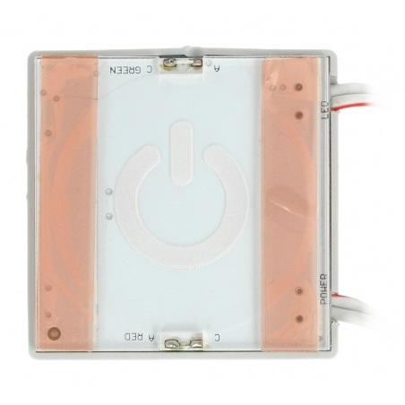 Dotykowy włącznik zasilania taśm LED - za szybą lustra