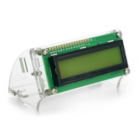 Podstawka na wyświetlacz LCD 2x16 znaków