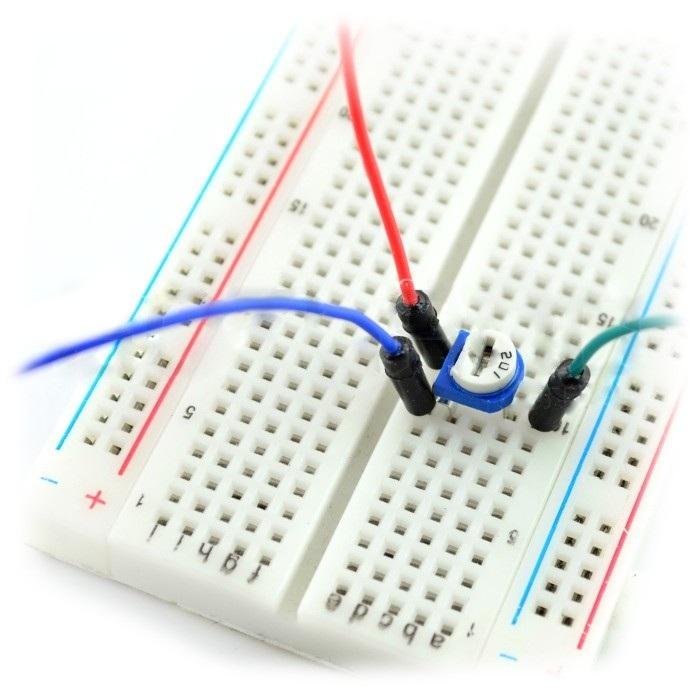 Potencjometr montażowy leżący 10kΩ - 5szt.