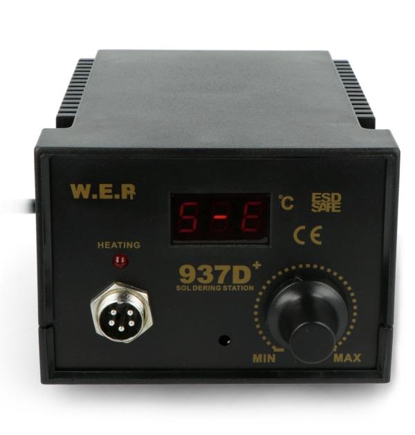 Stacja lutownicza WEP 937D+