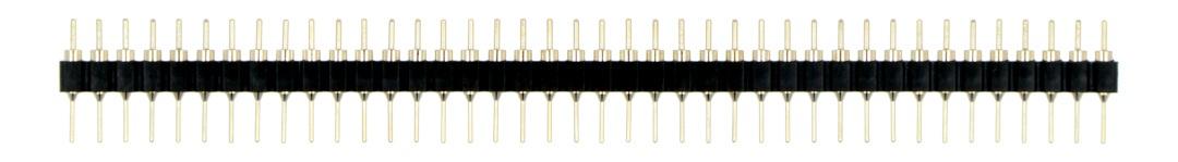 Listwa precyzyjna 1x40-pin