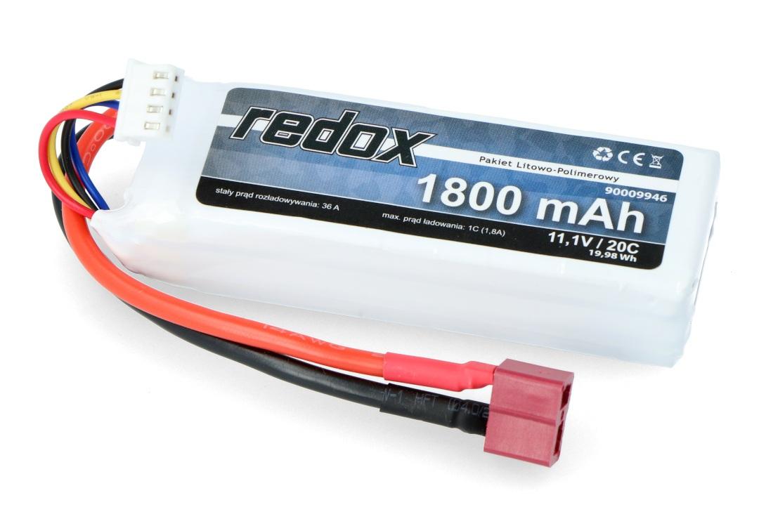 Pakiet Li-Pol Redox 1800 mAh