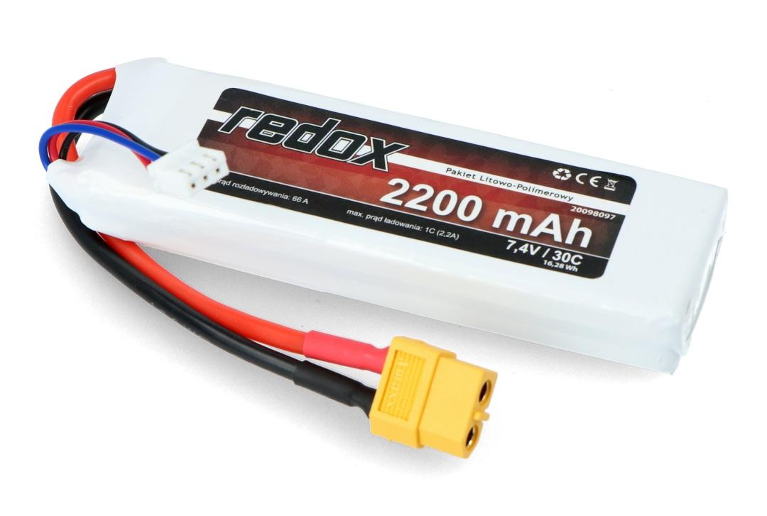 Pakiet Li-Pol Redox 2200 mAh